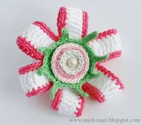 Приятные вязаные мелочи со схемами и описаниями. Nice knitted detail with diagrams and descriptions.