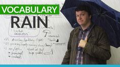 Love it or hate it, we all have to deal with rain. In this essential vocabulary lesson, you will learn some words and expressions that describe rain. How do you talk about light rain and heavy rain? What is the difference between drizzling, spitting, and pouring? What is a puddle? What does it mean if you are soaked or drenched? Grab an umbrella, and get ready to improve your vocabulary. You will be singing in the rain in no time!