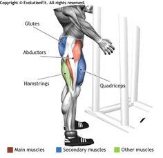 ABDUCTORS - SIDE LEG RAISES