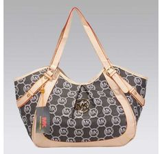 70% Off Didcount Michael Kors Large Whipped Zip-Top Monogram Tote