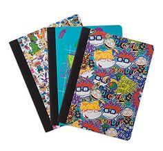 Nickelodeon Splat Composition Notebook 3pk - Exclusive   ThinkGeek