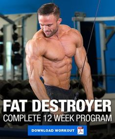 This is a complete 12 week program to help you get ripped. Feature includes detailed diet plan and cardio schedule, along with a 4 day upper/lower muscle building split. Shred Workout, Full Body Calisthenics Workout, 4 Day Workout, 12 Week Workout Plan, Ripped Workout, Full Body Workout Routine, Workout Plan For Men, Plyometric Workout, Workout Diet
