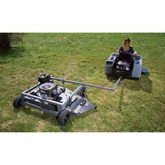 Swisher Finish Cut Tow-Behind Mower with Electric Start — 500cc Briggs & Stratton Engine