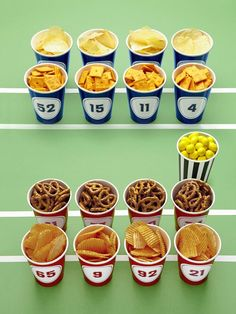 Play With Your Food - Host a Winning Super Bowl Party  on HGTV