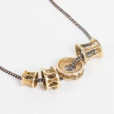 Fishbone Necklace - www.theoceanrepublic.com