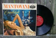 Vintage Mantovani Candlelight Vinyl Record Album by JoyousVintage