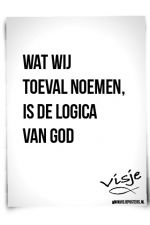 toeval, logisch toch?