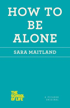 IN THIS AGE OF CONSTANT CONNECTIVITY, LEARN HOW TO ENJOY SOLITUDE AND FIND HAPPINESS WITHOUT OTHERS. Our fast-paced society does not approve of solitude; being alone is antisocial and some even find i