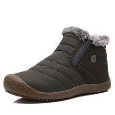 Yiruiya Women's Waterproof Snow Boots With Fur -- To view further for this item, visit the image link.