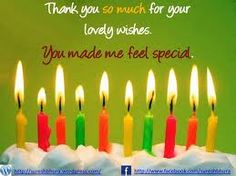 Thank you for the birthday wishes! I have the best family and friends. Still in my twenties :)