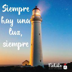 Siempre hay una luz al final… no te detengas, sigue adelante… #Inspiration #Frase