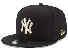 New York Yankees MLB Gold and Ice 9FIFTY Snapback Cap Hats