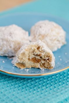 Pecan Butter Balls (Mexican Wedding Cookies)