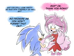 well i guess i missread tha question and i did only Amy as a werehog.. but hope you like it