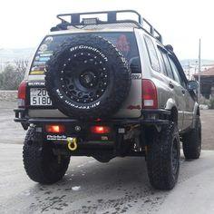 Suzuki Grand vitara rear bumper