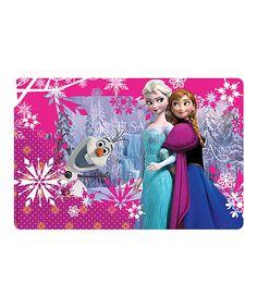 Look at this #zulilyfind! Frozen Place Mat - Set of 12 by Frozen #zulilyfinds