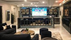 How you finish your evening is as important as how you start it - last impressions can be as powerful as first impressions. When you welcome your guests into the luxurious basement lounge at 23 Windermere, from @platinumsignaturehomes and @flaunt_interiors, you can feel assured that your guests won't soon forget their visit. Windermere, Home Theater, Basement, Forget, Lounge, It Is Finished, Interiors, Luxury, Airport Lounge