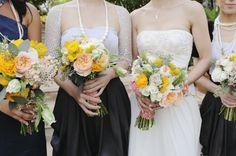 Intimate Yellow Malibu Wedding