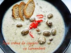 Homemade Cook: Supa crema de ciuperci cu Camembert