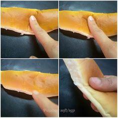 Ψωμάκια soft για σάντουιτς Hot Dog Buns, Hot Dogs, Bread, Recipes, Food, Brot, Essen, Baking, Eten
