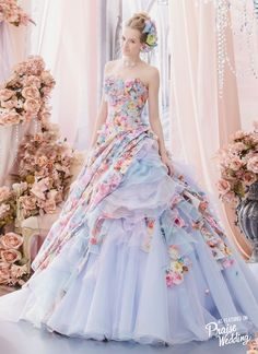 Dress: Maria Feria Couture