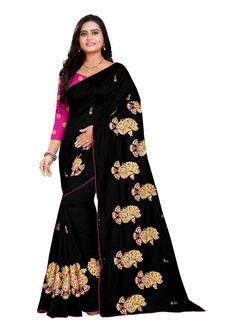Black Party Silk Classic Saree