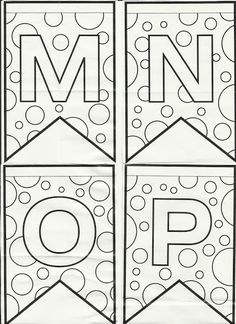Blog Professor Zezinho : Letras do alfabeto bandeirinhas de Festa Junina para colorir e enfeitar a sala de aula!