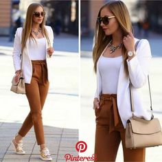 Classy Work Outfits For Women This Fall, Classy Work Outfits For Women This Fall. Classy Work Outfits For Women This Fall, Classy Work Outfits For Women This Fall Best And Stylish Business Casual Work Outfit For Women 01 classy work. Classy Work Outfits, Summer Work Outfits, Work Casual, Fall Outfits, Casual Summer, Smart Casual, Business Outfit, Business Casual Outfits, Professional Outfits