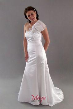 ... One Shoulder Wedding Dress, Wedding Dresses, Womens Fashion, Style, Bride Dresses, Swag, Bridal Gowns, Weeding Dresses, Women's Fashion