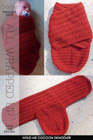 DiaryofaCreativeFanatic: Needlecrafts - Knit | Crochet | Recycle | Sew - Baby Sleep Sacks