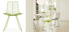 Krzesło LEAF włoskiej marki ARPER sprawdzi się jako ergonomiczne siedzisko w jadalni, zarówno pod dachem jak i pod chmurką.