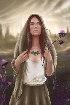 Aviendha of the Tardaad Aiel by *PollyUranus on deviantART