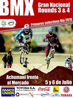#BMX #BMXLaPaz Competencia Nacional, 5 y 6 de julio. ¡Vamos! #LaPaz #Bolivia