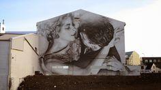 Street Art: GUIDO VAN HELTEN. Photorrealistic Street Art