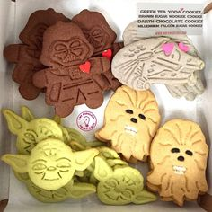 Delicious, these cookies are  #MayTheFourth be with you, Smart Girls!