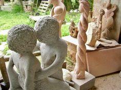 Sculpture workshop, details - Laboratorio di scultura, dettagli