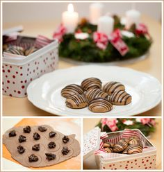 Co bude dobrého? Christmas Sweets, Desert Recipes, Waffles, Deserts, Pudding, Place Card Holders, Cookies, Breakfast, Cake