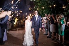 real weddings, wedding photography ideas, outdoor weddings, send off, sparkler send off, bride and groom, happy couple, The Historic Brookstown Inn, Winston Salem, wedding dress, wedding gown