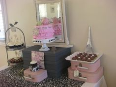 French / Parisienne high tea birthday party for my 10 year old daughter 7th Birthday Party Ideas, Tea Party Birthday, French Tea Parties, Dessert Tables, Let Them Eat Cake, High Tea, Holiday Ideas, First Birthdays, Daughter