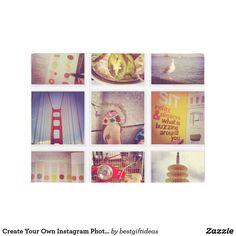 Create Your Own Instagram Photo Collage Doormat