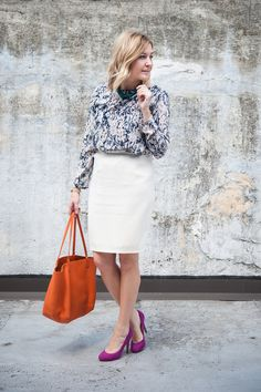 What I Wear to Work: A Fashion Blogger at the State Department | Washingtonian