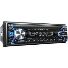 Power Acoustik Single-din In-dash Digital Audio Receiver (bluetooth Detachable Face)