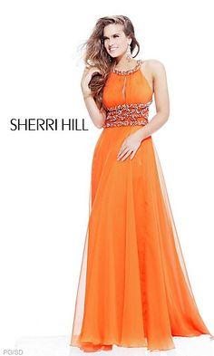 Formal Sherri Hill Dress 1493 at SimplyDresses.com