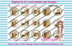 1' Bottle caps (4x6) Digital lil bear garden A481  OCCUPATIONS BOTTLE CAP IMAGES #OCCUPATIONS  #jobs #bottlecapimages #bottlecap #BCI #shrinkydinkimages #bowcenters #hairbows #bowmaking #ironon #printables #printyourself #digitaltransfer #doityourself #transfer #ribbongraphics #ribbon #shirtprint #tshirt #digitalart #diy #digital #graphicdesign please purchase via link  http://craftinheavenboutique.com/index.php?main_page=index&cPath=323_533_42_73