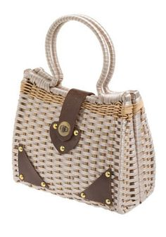 82f5fd9c57b87 Vintage Studly Sultan Woven Purse Vintage Bags