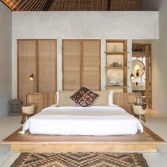 3 and 4 bedroom luxury villas in Seminyak, Bali . Bali Bedroom, Home Bedroom, Modern Bedroom, Bedroom Decor, Balinese Interior, Balinese Decor, Balinese Villa, Bali Style Home, Bali House