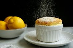 "Lemon Soufflé Recipe This soufflé, adapted from Mark Bittman's famous tome, ""How to Cook Everything,"" is rich, fluffy and very easy. You can also make orange or Grand Marnier variations. If you want to make individual soufflés, use a little more butter and grease four 1 1/2- to 2-cup ramekins."