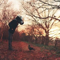 Joel's Robison's New Spectacularly Surreal Self-Portraits Filled with Positivity and Hope