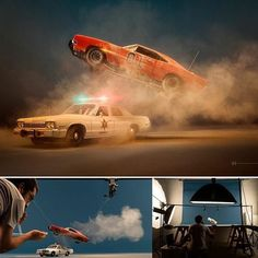 Photographer and graphic artist Felix Hernandez Rodriguez creates unique highly-detailed miniatures and with the help of clever editing and special effects. In his works, Felix recreates iconic views from classic movies, incredible sci-fi scenes, Photography Lighting Setup, Lighting Setups, Photography 101, Photoshop Photography, Photography Tutorials, Creative Photography, Bts Video, Foto E Video, Perspective Forcée