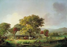 Autum in New England, Durrie George Henry - Madrid, Museo Thyssen Bornemisza